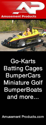 go-karts, bumpercars, batting cgaes by amusement products